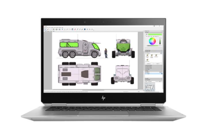 Image of   HP ZBook Studio x360 G5